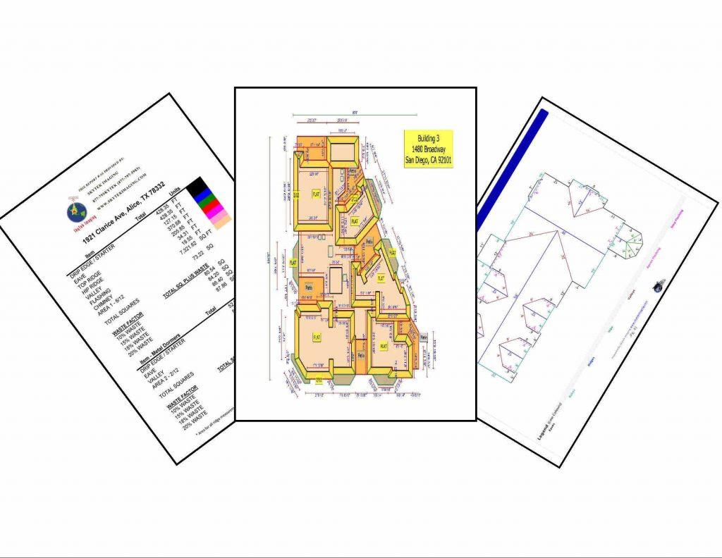 satellite and aerial roof measurements - Roof Measurements